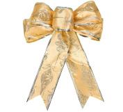 Km Christmas Decorations Bow Christmas Tree Pendant Golden