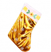 Km Christmas Decorations Snowflake Gift Sock 13.7*25cm