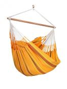 LA SIESTA - Colombian Hammock Chair Lounger CURRAMBERA apricot