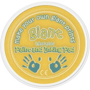 Giant Paint & Inking Pad Ideal for Childrens Hand & Foot Prints with Animal Shaped Painting Sponge - YELLOW