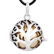 Eudora Harmony Ball Silver Pendant Necklace Musical Pregnant Women Jewellery