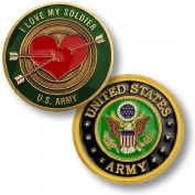 I Love My Soldier Challenge Coin by Northwest Territorial Mint