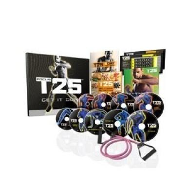 Shaun T's FOCUS T25 DVD Workout Programme.