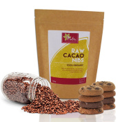 RAW Organic Cacao Nibs | #1 Best Magnesium Rich Superfood | Vegan Protein | Versatile Chocolate Ingredient | Ideal for Power Smoothies | by Nutri Superfoods