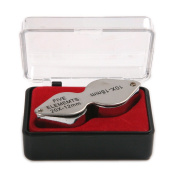 Atoplee 3pcs Jeweller's Loupe Magnifier Magnifying Glass with Protective Case 10X/20X/30X