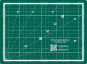 Size A4 - 23cm x 30cm Self-Healing CUTTING MAT - Reversible Inches and Centimetres - thoughtful design - 5 layer mat, finest available