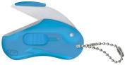 Raymay Beans Shaped Portable Mini Scissors Beans Cut, Blue