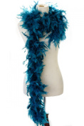 40 gramme Burlesque Costume Deluxe Feather Boa : Soft Full Vegas Style 1.8m