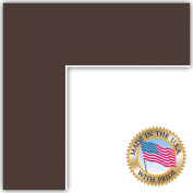 11x29 Peat Custom Mat for Picture Frame with 7x25 opening size