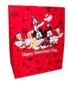 Happy Valentine's Day Medium Gift Bag Assortemnt-Includes 1; styles vary