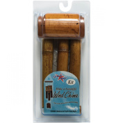 Natural Bamboo Wind Chime Kit-Small