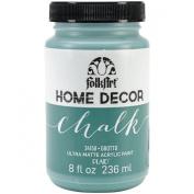 FolkArt Home Decor Chalk Paint 240ml-Grotto