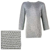 Mediaeval Knights Full Sleeve Hauberk Chainmail Medium