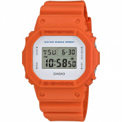 CASIO G-Shock Men's Digital Blue Bracelet Watch 43mm Orange, Grey and Green