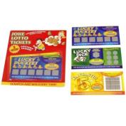 Fake Scratch Lottery Tickets Boyfriend Girlfriend Novelty Joke Secret Santa Gift