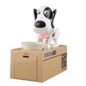 LOBZON Automated Choken Puppy Coin Bank Money Saving Box