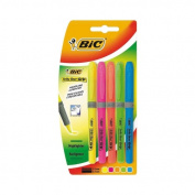 BIC Brite Liner Grip Highlighter Pack of Five