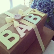Handcrafted Gift Box for a Newborn Baby Boy - EXCLUSIVE TO THE GIFTBOX ONLY - Stunning free. Message Option