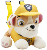 Paw Patrol Rubble Plush Backpack