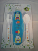 Disney Baby Mickey Mouse Travel Cutlery Set and Case