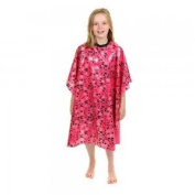 Crewe Childs Cape hook and loop Fasten - Pink