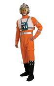 Deluxe X-Wing Fighter Pilot - Star Wars - Adult Fancy Dress Costume - XL - 110cm - 120cm
