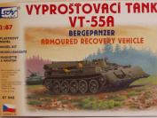 SDV Plastic Model Kit 1/87 H0 Armoured Recovery Vehicle VT-55A