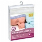 Protect A Bed Terry Fitted Bassinette Mattress Protector