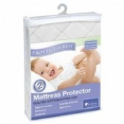 Protect A Bed Quilted Fitted Cotton Cot Mattress Protector