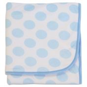 Bubba Blue Polka Dot Cuddle Blanket Blue