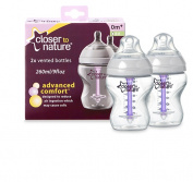 Closer To Nature Advanced Comfort Bottle 2 Pack 260mL