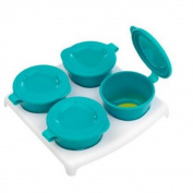 Closer To Nature Pop Up Freezer Pots and Tray Blue