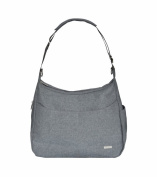 J J Cole Linden Nappy Bag Grey Heather