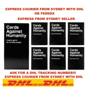 Cards Against Humanity Australia V1.7 Main Set + 1 2 3 4 5 6 Expansions Bundles / EXPRESS FROM SYDNEY WITH DHL EXPRESS