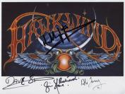 Hawkwind SIGNED Photo 1st Generation PRINT Ltd 150 + Certificate