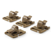 OneTigris Tactical Military Hydration Tube Clips Water Tube Clip Pack of 4