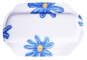 PVC Environmental Massage Bath Spa Pillow Non-skid Sucker Tub Cushion-Flower