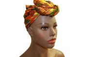 Kente African Headwrap