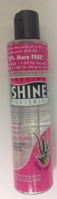 Smooth N' Shine Instant Repair Hair Polisher w/ Aloe Vera Extra Strength Bonus Size 210ml (1pc)