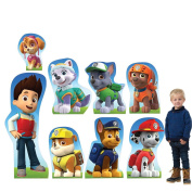 Paw Patrol Character Standee Set