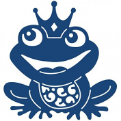 Tattered Lace Metal Die-Frog