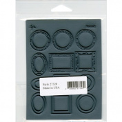 Lisa Pavelka Individual Texture Stamp 11cm x 14cm 1/Pkg-Framed by Great Create