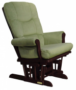 Shermag Recliner Glider Chair, Cherry Lichen