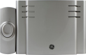 GE 19303 Battery Operated Wireless Door Chime Makes 8 Sounds, Nickel