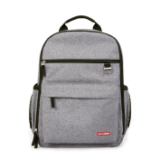 Skip Hop Duo Nappy Backpack, Grey