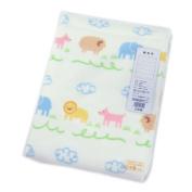 Nishikawa industry Animal Park pattern cotton blanket LCH0709800-M LA9200