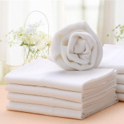 BABYBOO Baby Changing Cloth Nappies Inserts Liners Prefold 100% Cotton Packing of 10