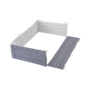 Fujiki baby polka bed guard putt monotone bed guard safety windproof 0 months