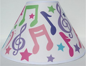Music Notes Lamp Shade / Musical Notes Nursery Decor