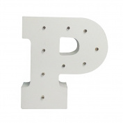 LED Light Up Letters (P)